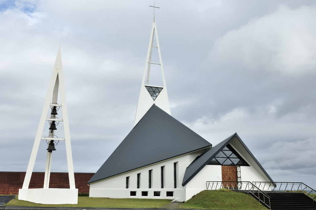 The church in Olafsvik