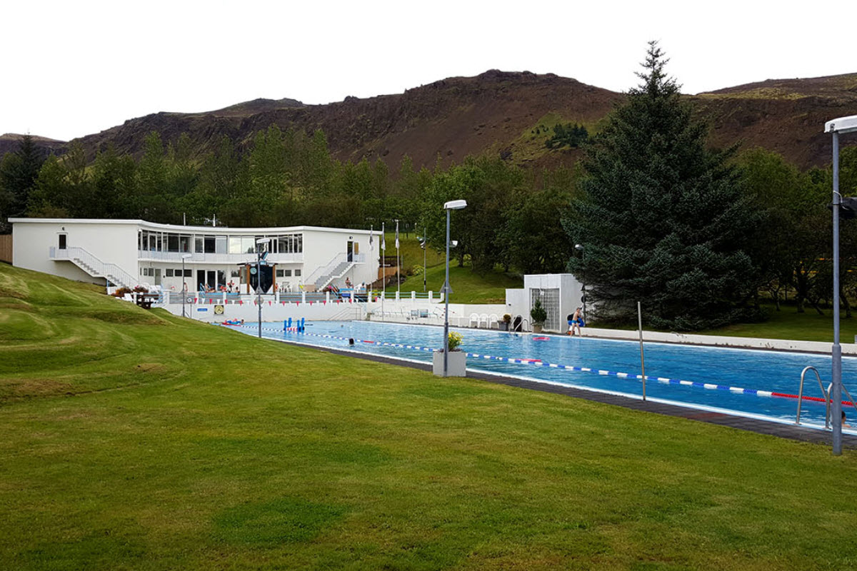 The Swimming Pool in Hveragerði