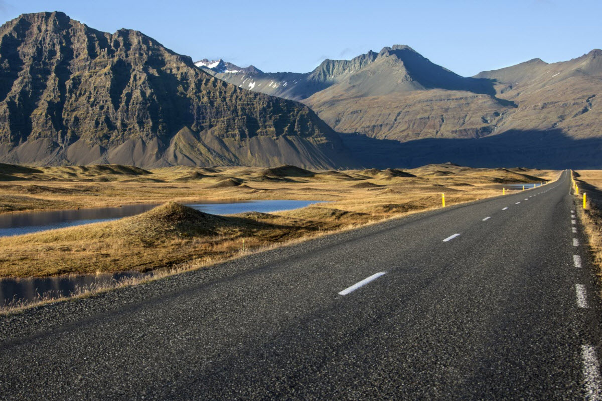 The Road to Hofn in South Iceland