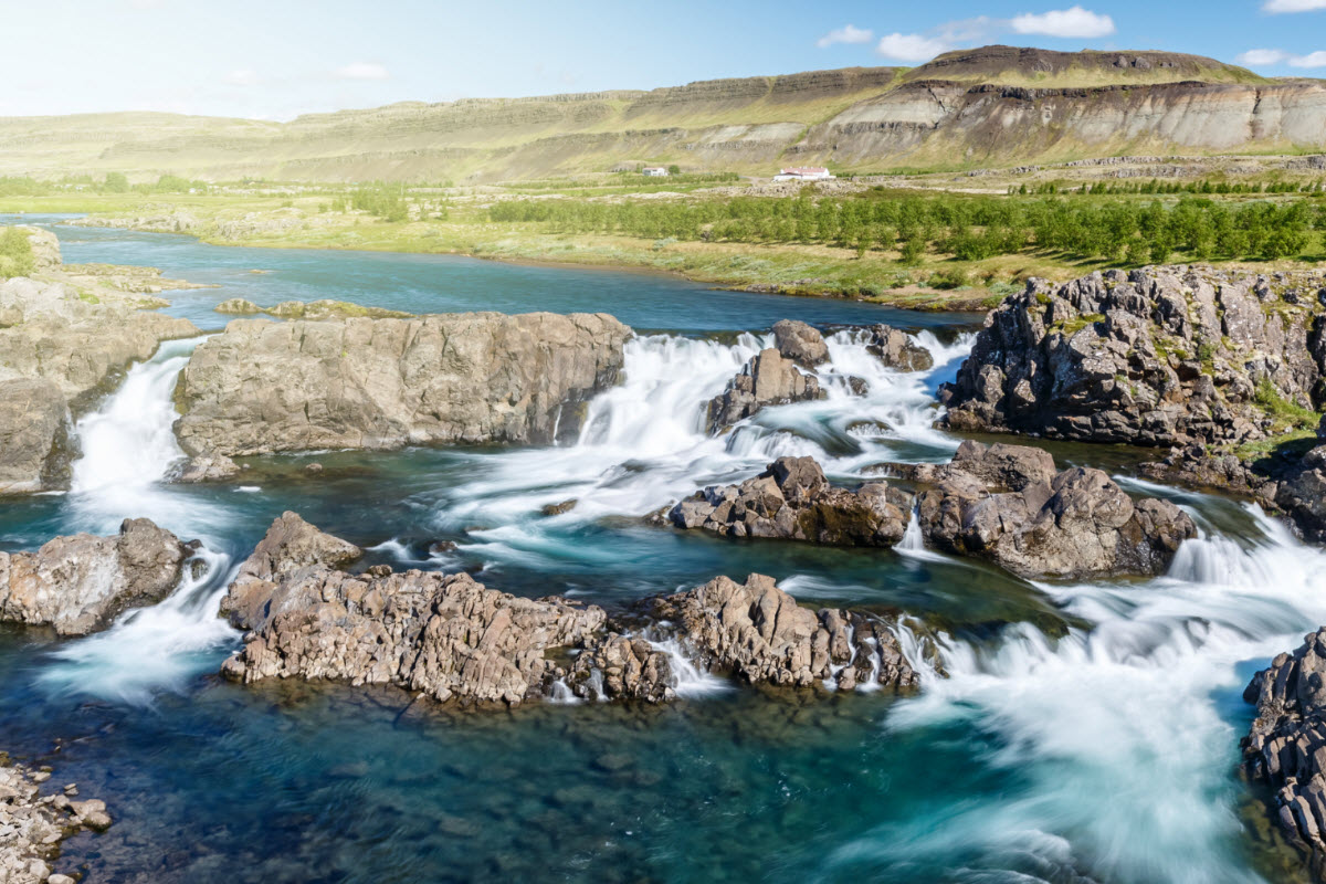 Glanni waterfall in South Iceland