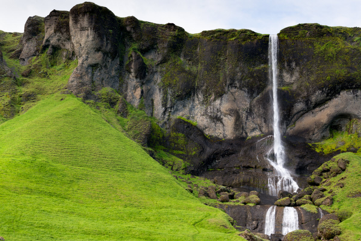 Foss a Sidu waterfall in South Iceland