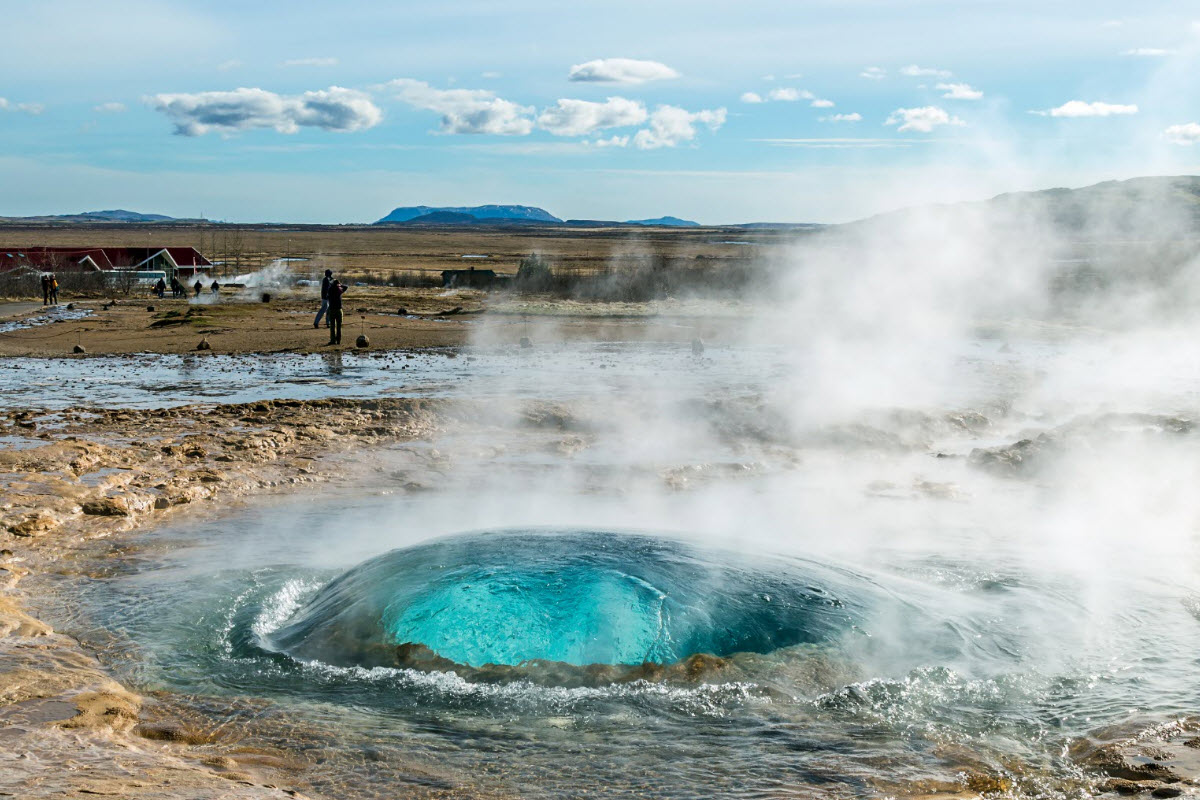 Geysir is one of the most famous hot springs in the world