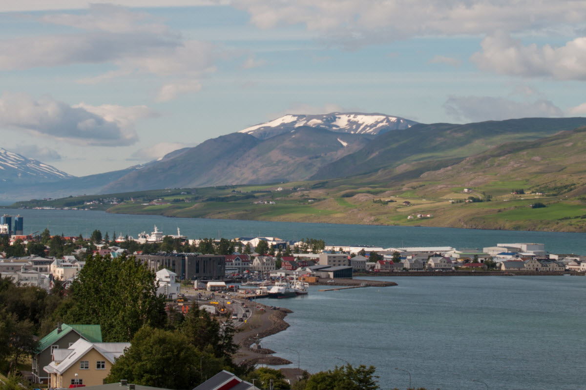 Akureyri is the capital of the North