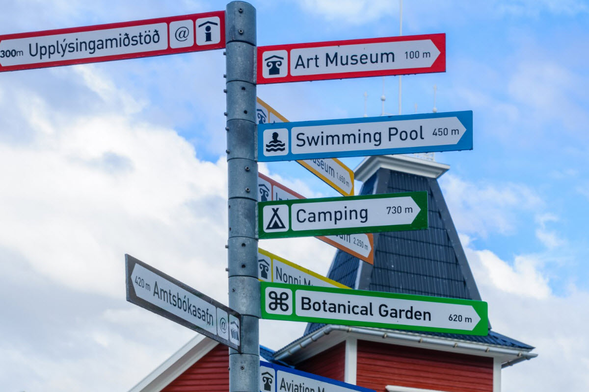 There are lot of things to do and see in Akureyri
