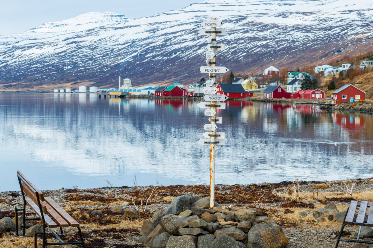 There is a lot of things to do and see in Eskifjörður