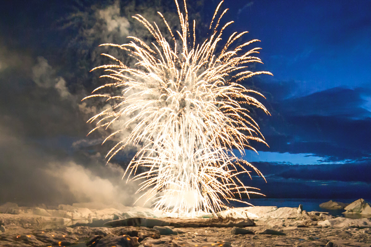 Celebrate New Year's Eve in Iceland